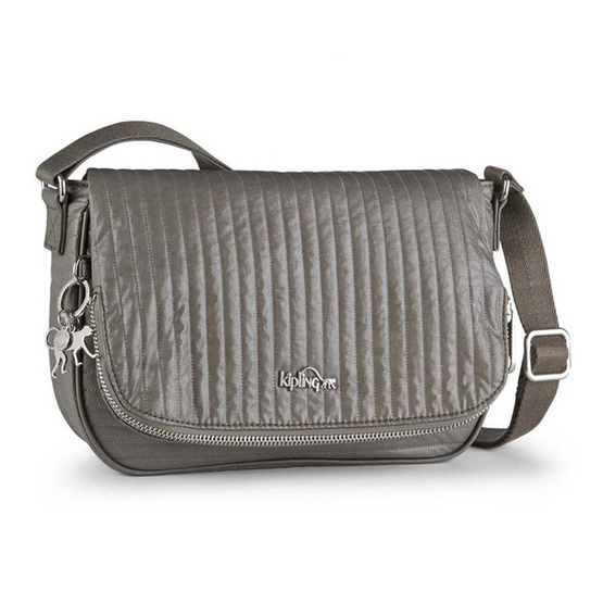 Kipling กระเป๋า Earthbeat S - Misty Taupe