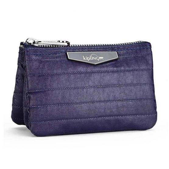 Kipling กระเป๋าอเนกประสงค์ Creativity S - Shiny Blue