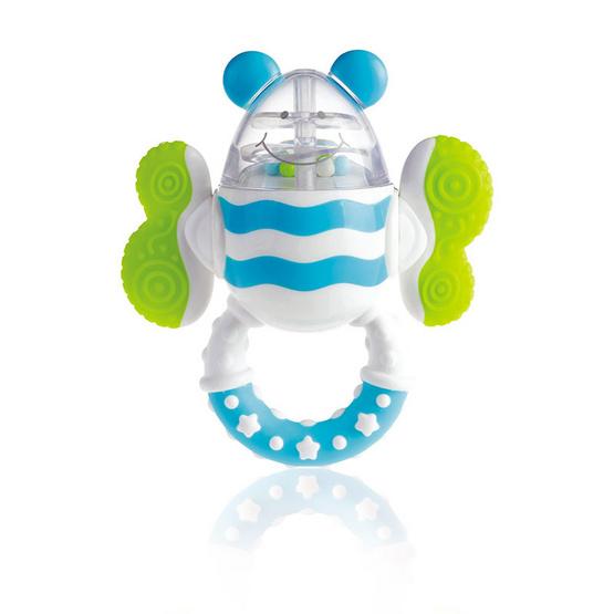 KIDSME ของเล่นเขย่ามีเสียงกัดได้ รูปผึ้ง
