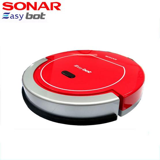 Sonar หุ่นยนต์ดูดฝุ่นอัตโนมัติ รุ่น VCR-500 สีแดง