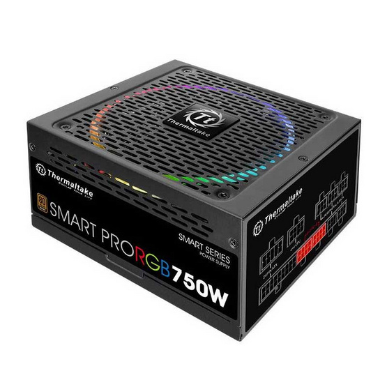 Thermaltake Power Supply Smart Pro RGB 750W Fully Modular 80+ Bronze