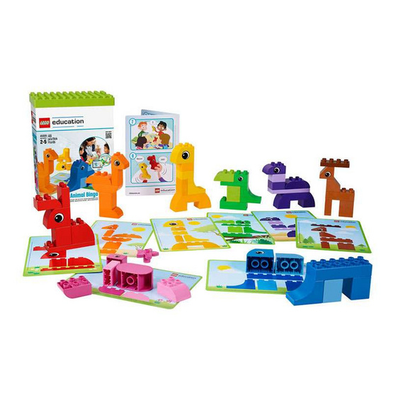 LEGO Education Animal Bingo
