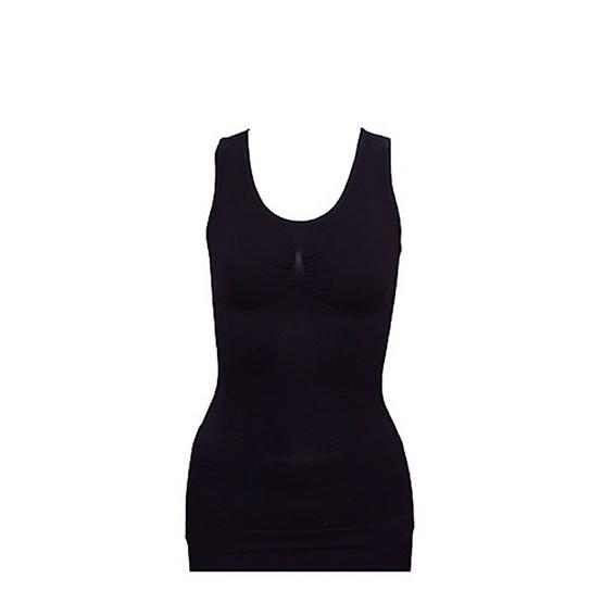 SWANS strong silk top แพคคู่ เสื้อกล้ามกระชับสัดส่วน Free Size สีเนื้อ,สีดำ
