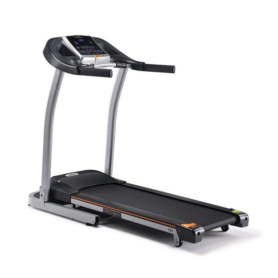 Tempo ลู่วิ่งไฟฟ้า Treadmill รุ่น T81 สีเงิน-ดำ