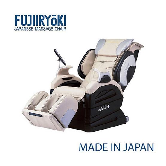 Fujiiryoki เก้าอี้นวดไฟฟ้า รุ่น EC-3000 สีครีม