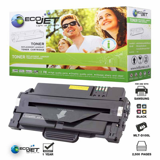Ecojet Toner Cartridge For Samsung MLT-D105