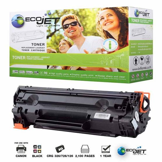Ecojet Toner Cartridge For Canon 326