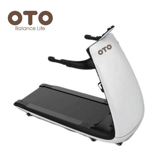 OTO ลู่วิ่งไฟฟ้า Treadmill รุ่น AL-1000 สีขาว-ดำ