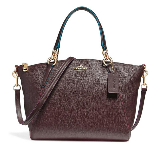COACH กระเป๋า F23009 SMALL KELSEY SATCHEL WITH EDGEPAINT