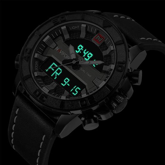 Naviforce นาฬิกา รุ่น NF9114M สีเงิน