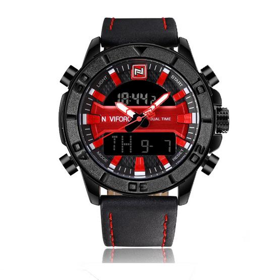 Naviforce นาฬิกา รุ่น NF9114M สีแดง