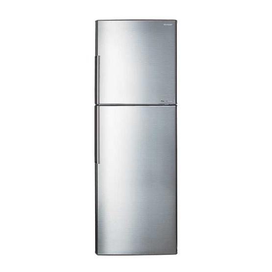 SHARP ตู้เย็น 8.9 คิว SJ-X260T-SL