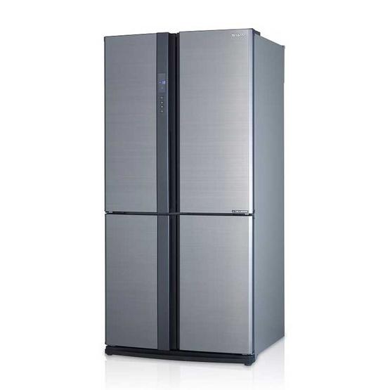SHARP ตู้เย็น 20.5 คิว SJ-FX74T-SL