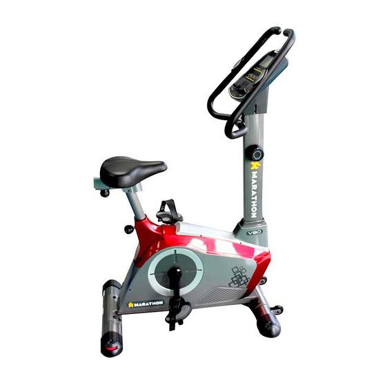 Marathon จักรยานนั่งปั่น รุ่น AL-V90 สีแดง-เทา