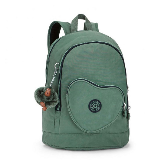Kipling กระเป๋า Heart Backpack - Dark Green C