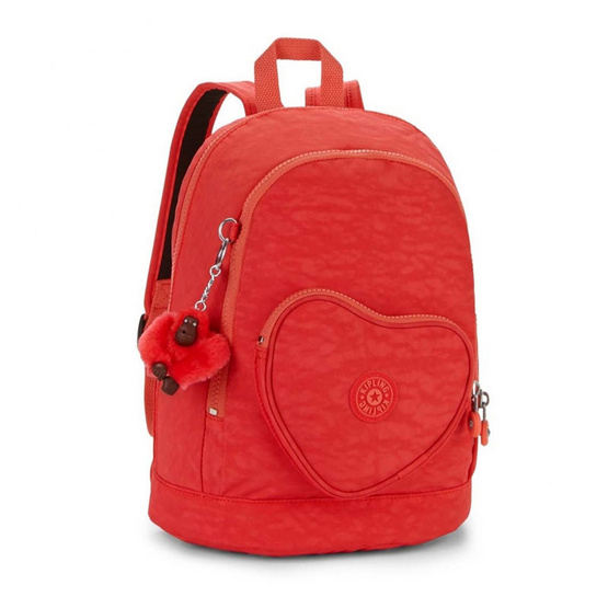 Kipling กระเป๋า Heart Backpack - Happy Red C