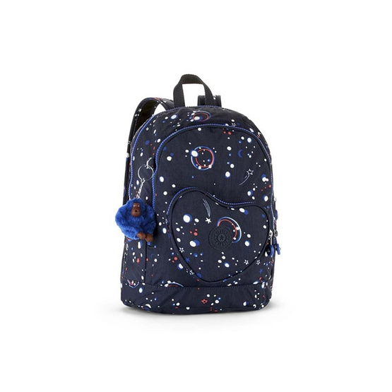 Kipling กระเป๋า Heart Backpack - Galaxy Party