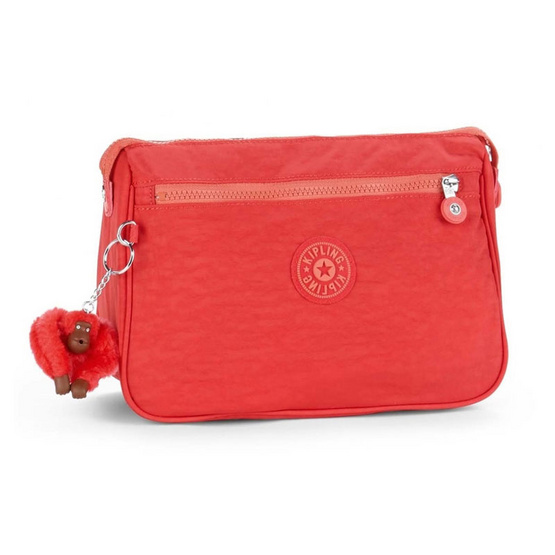 Kipling กระเป๋า Puppy - Happy Red Mix