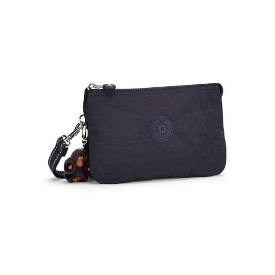 Kipling กระเป๋าคล้องมือ Creativity XL - Blue Purple C