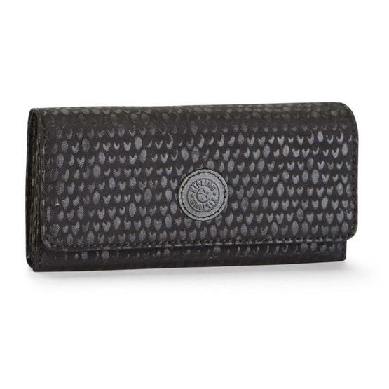 Kipling กระเป๋าสตางค์ Brownie - Black Scale Emb