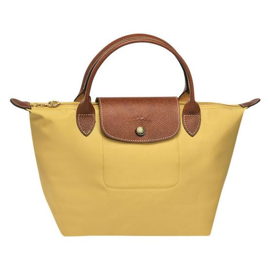 Longchamp กระเป๋า Le Pliage Small handbag - Curry