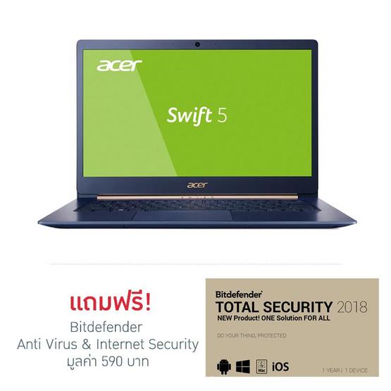 Acer Notebook Swift SF514-52T-57ZG i5-8250U 8G 256G W10 T 3Y Charcoal Blue