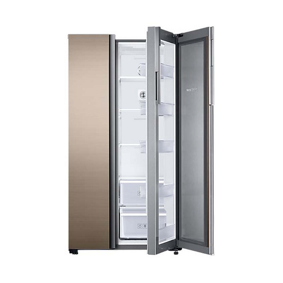 Samsung ตู้เย็น Side by Side  จุ 23.3 คิว รุ่น RH62K62377A/ST