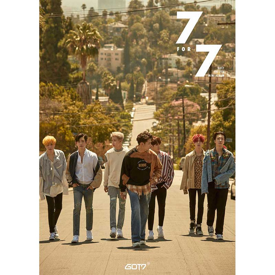 CD+DVD GOT7 Album 7 FOR 7 THAILAND EDITION