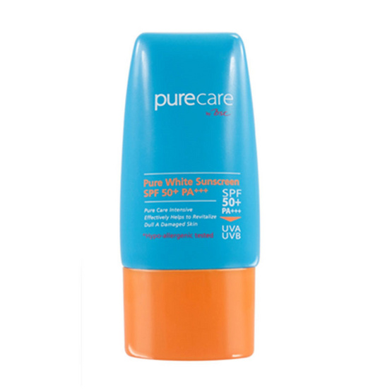 เช็คราคา PURE CARE NANO ACTIVE WHITE EXTRA SUN PROTECTIVE CREAM SPF 50+ PA+++40 ml ครีมบำรุงหน้าที่ดีที่สุด