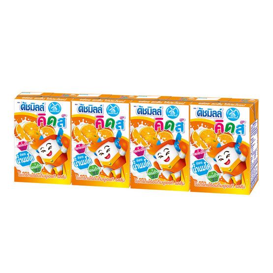 ดัชมิลล์ คิดส์ นมเปรี้ยว รสส้ม 90 มล. (ยกลัง 48 กล่อง)