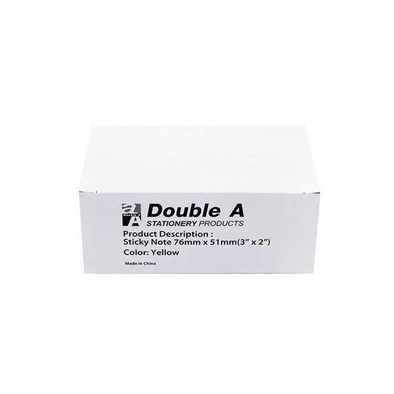 Double A กระดาษโน๊ต ขนาด 2 x 3 นิ้ว (บรรจุ 12 ชิ้น/กล่อง)