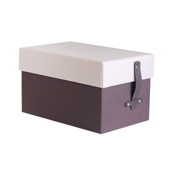 Kan Leather กล่องหุ้มผ้า PVC