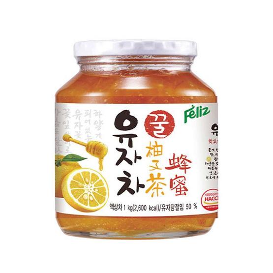 เฟลิซ ฮันนี ซิตรอน ที ชาปรุงสำเร็จรูปส้มซิตรอน ผสมน้ำผึ้ง 560 กรัม