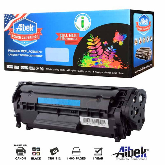Aibek Toner Cartridge For Canon 312