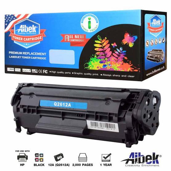 Aibek Toner Cartridge For HP Q2612A
