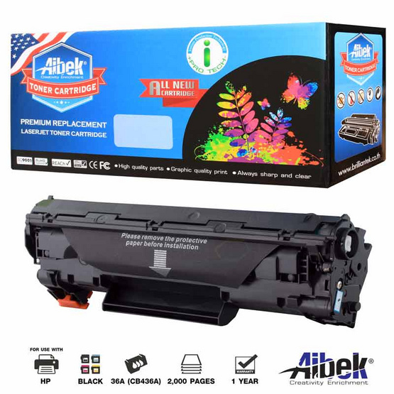 Aibek Toner Cartridge For HP CB436A