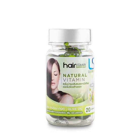 Lesasha Hair Vitamin Olive Oil 20 Caps