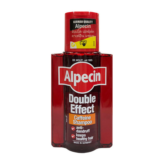 Alpecin Double Effect Caffeine Shampoo 200 ml