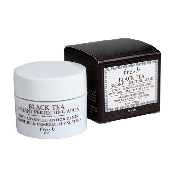 มาส์กหน้าขาว-Fresh Black Tea Instant Perfecting Mask 15 ml