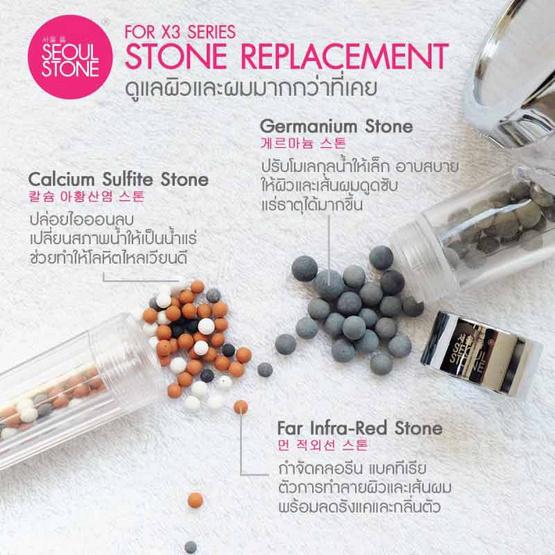 Stone Replacement สำหรับฝักบัวรุ่น Sensationn