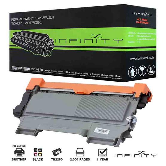 Infinity Toner Cartridge For Brother TN2280 / TN450 / TN2260