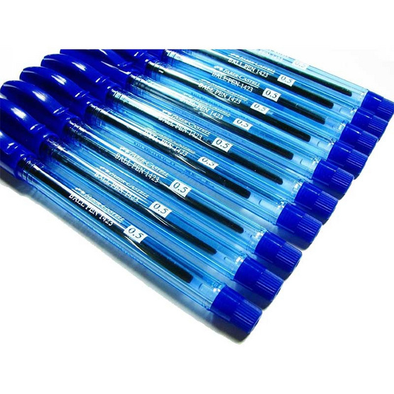 Faber-Castell ปากกาลูกลื่น 1423 ด้ามสีน้ำเงิน 0.5 มม. (30 ด้าม)