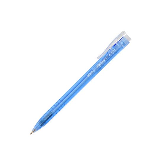 Faber-Castell ปากกาลูกลื่น RX ด้ามสีน้ำเงิน 0.5 มม. (30 ด้าม)