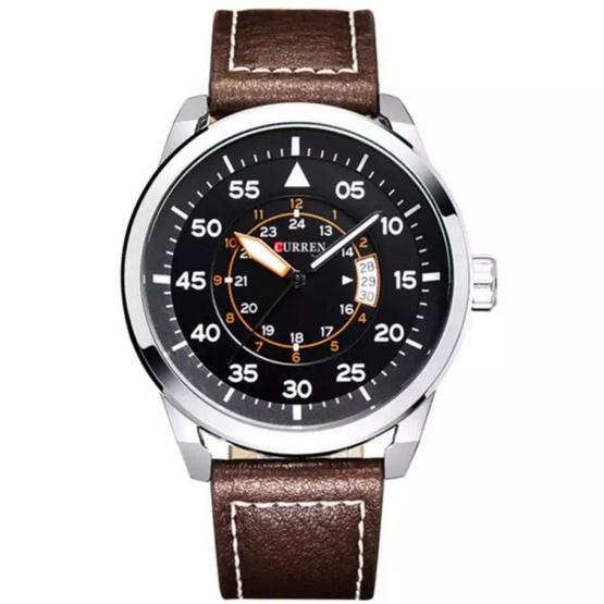 Curren นาฬิกาข้อมือ รุ่น C8210 สีน้ำตาล