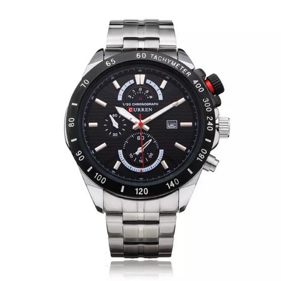 Curren นาฬิกาข้อมือ รุ่น C8148 สีเงิน