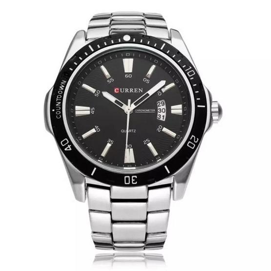 Curren นาฬิกาข้อมือ รุ่น C8110 สีเงิน