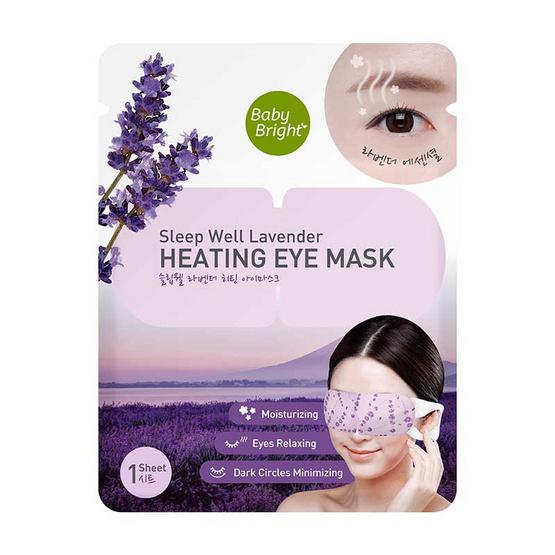 Baby Bright Sleep Well Lavender Heatin g Eye Mask
