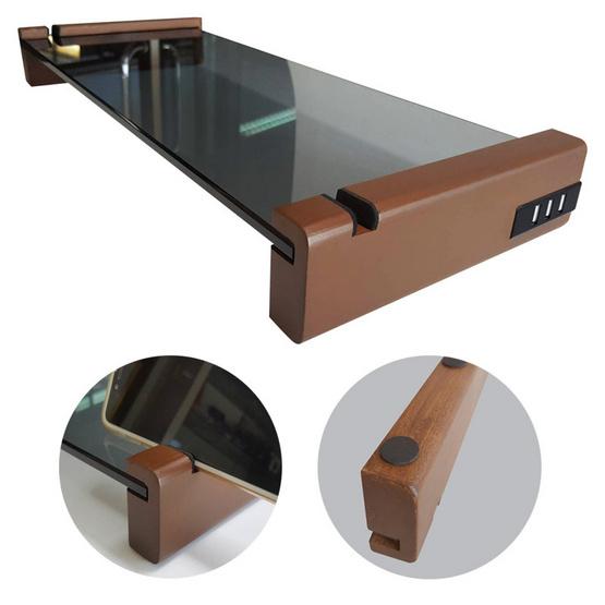 สตอร์ม ที่วางจอคอมพิวเตอร์พร้อมช่องวางโทรศัพท์และช่อง USB 3 ช่อง MS652