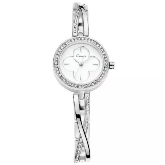 Kimio นาฬิกาข้อมือผู้หญิง สีเงิน สายสแตนเลส รุ่น KW6101