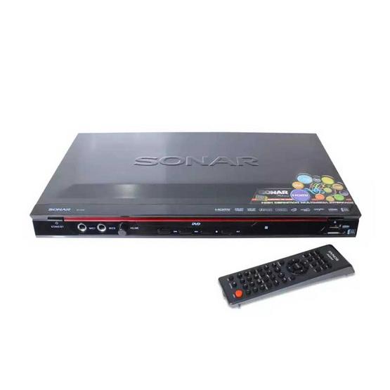 SONAR DVD เครื่องเล่นดีวีดี รุ่น SV-372 HDMI สีดำ